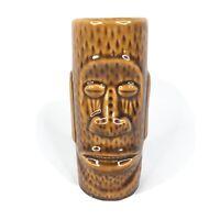 VTG Orchids Of Hawaii Moai Teeth Mug R-72 Taiwan Tiki Bar Easter Island Aloha