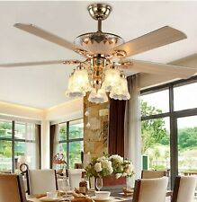 """Andersonlight Lighting 52"""" Indoor Ceiling Fan with Remote Control Noiseless"""