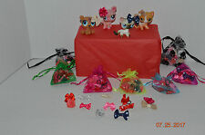 Littlest Pet Shop~Random Lot~12 Handmade Accessories Bows For Your LPS Pet
