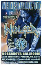 KIP WINGER 2015 Gig POSTER Portland Oregon Concert