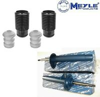 Meyle - BMW 3 E46 Shock Absorbers X2 + Dust Protection Kit Stop Buffer Front