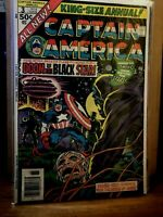 Captain America king-size annual 3 VF/NM HIGH GRADE