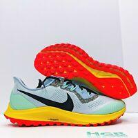 Nike Air Zoom Pegasus 36 Trail Men's Running Gym Blue Yellow Pink AR5677-401 NIB