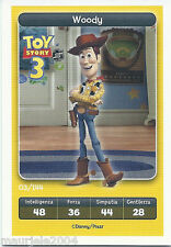 Figurina Esselunga Disney Pixar. Toy Story 3. Woody n° 3/144 NUOVA