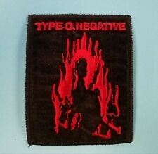 Type O Negative Embroidered Patch !