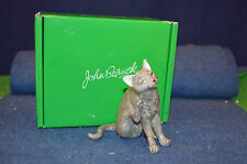 Lovely John Beswick Short Haired Cat Scratching Figurine JBC46 USC RD6053