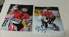 NHL ED BELFOUR autograph signed hockey blackhawks 30 photographs pictures