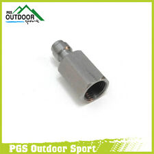 """Paintball PCP Stainless Steel 8mm Quick Disconnect Coupler Male Plug 1/8"""" NPT"""