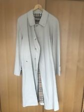Mens Burberry Trench Coat Vintage