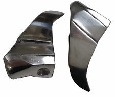 LAMBRETTA PAIR OF ALLOY CHROME SHARK TEETH GP NEW