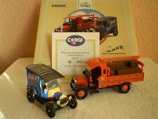 Corgi Classic Cars : Bass Set : Thorneycroft Bottle Truck & 1915 Model T Van