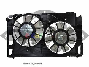 TOYOTA PRIUS ZVW30 HYBRID 4/2009-ON DUAL RADIATOR FAN