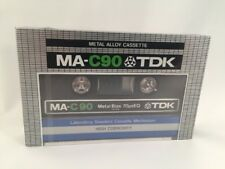 New Sealed Vintage TDK MA-C90 Metal Audio Cassette Tape FREE SHIPPING