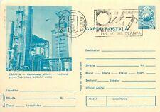 Postal stationery postcard Romania Craiova chemical industry factory