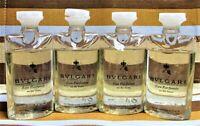 {LOT OF 4} Bvlgari Eau Parfumee Au The Blanc Shampoo & Shower Gel 4x2.5oz/4x75ml