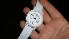 timex t2n876 white camper watch bigger man size band women light date nice