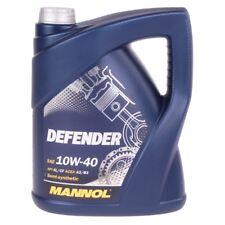 10W-40 Motoröl 5 Liter MANNOL Defender VW 501.01 505.00 MB 229.1 ACEA A3/B3