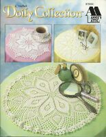 Crochet Doily Collection Annie's Attic Crochet Instruction Pattern Book 1996 NEW
