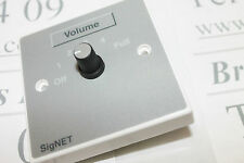 Signet  VC-12    12w volume control for 100v line - Supplied with white back box