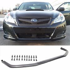 Fit 10-12 Subaru Legacy Front Bumper Lip V-Limited Sedan 4DR PU