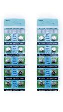 50 x AG13 Alkaline Batteries LR44 SR44 L1154 357 A76 button cells watch camera