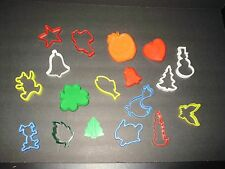 18 Vintage Cookie Cutters St. Patricks Day Valentines Christmas Halloween