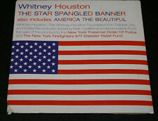Whitney Houston The Star Spangled Banner & America The Beautiful Promo CD VG OOP