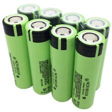 8X 18650 3400mAh High Drain Battery Li-ion Rechargeable NCR18650B for Vape Smok