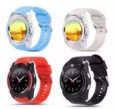 Luxus SmartWatch V8 Bluetooth Uhr iOS Android Samsung iPhone SIM Smart Watch LG