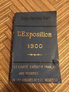 Guide Pratiques Conty l'exposition 1900