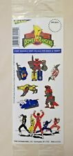 Vintage Mighty Morphin Power Rangers Vinyl Decals~1994~New Sealed