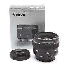 Mint Canon EF 50mm f1.4 USM Lens With Box #31345