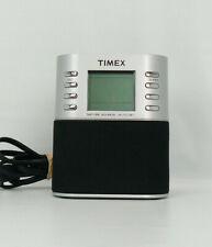 Timex T307S Dual Alarm Clock Radio Nature Sounds Preset Tuning MP3 Line-in-EUC