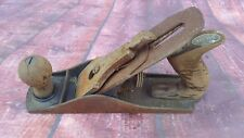Vintage Industrial Record Wood Work Plane Carpentry Hand Tools England No 4