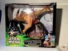 "Hasbro RARE Star Wars 12"" Captain Tarpals & Kaadu Figure Set 1/6 Sideshow Scale"