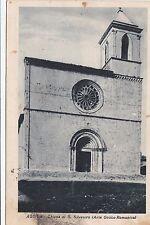 # AQUILA : CHIESA DI S. SILVESTRO - 1938