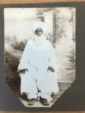 More details for 2 original 1920s british indian army photos soldiers old man of india group view