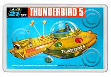 THUNDERBIRDS 5 JR21 TOY BOX ARTWORK NEW JUMBO FRIDGE LOCKER MAGNET