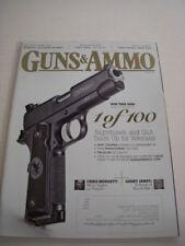GUNS & AMMO Magazine, May, 2015, COLT SAA .357 MAG, TWO-HAND GRIP TIPS, TRIJICON