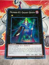 Carte YU GI OH NUMERO 83 : REINE GALACTIQUE PHSW-EN039 ANGLAIS