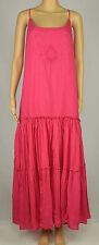 Lauren Ralph Lauren Womens Pink Embroidered Maxi Dress 16