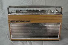 Poste récepteur radio vintage Schaub Lorenz «Week End»  à restaurer