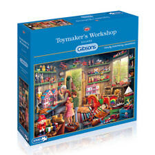 GIBSONS TOYMAKERS WORKSHOP 1000 PIECE JIGSAW PUZZLE BY EDUARD G6249