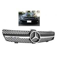 CALANDRE MERCEDES NOIR BRILLANT ET CHROME CLS W219 PHASE 1 DE 07/2004 A 01/2008