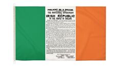 DuraFlag  Easter Proclamation Ireland 5ft x 3ft Flag with Clips And Hooks