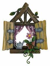 Fountasia Pixie World - Fairy Window - Polkadots - Garden Decoration/Ornament