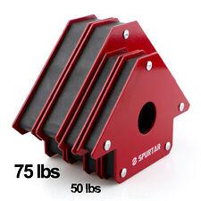 """4x 4"""" Welding Tool Magnets Magnetic Arrow Workshop Welder Soldering 50LBS"""