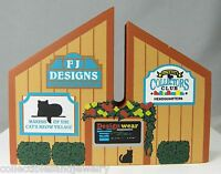 Cat's Meow Collectible Village Sign Accessory # 285 FJ Designs Collectors Club