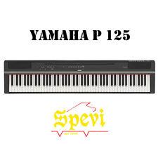 YAMAHA P 125 PIANOFORTE DIGITALE 88 TASTI PESATI ( P125)