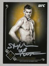 STEPHEN THOMPSON 2017 TOPPS UFC MUSEUM GOLD W/SILVER INK AUTO #09/10 *WONDERBOY*